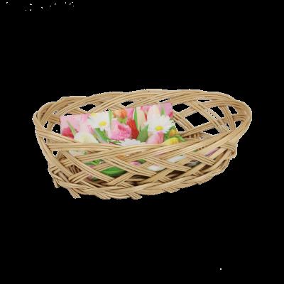 Koszyczek na pieczywo z serwetką 22 x 13 cm