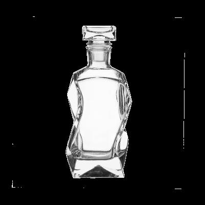 Karafka szklana łamana EDWANEX 0,375l