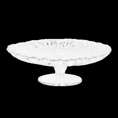 Patera szklana na ciasto PASABAHCE Aurora 20,5 cm