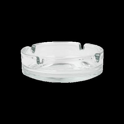 Popielnica okrągła szklana 10,7 cm