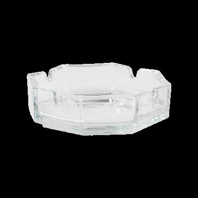 Popielnica ośmioboczna szklana 11 cm