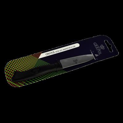 Nóż do warzyw GERPOL Onyx 8 cm