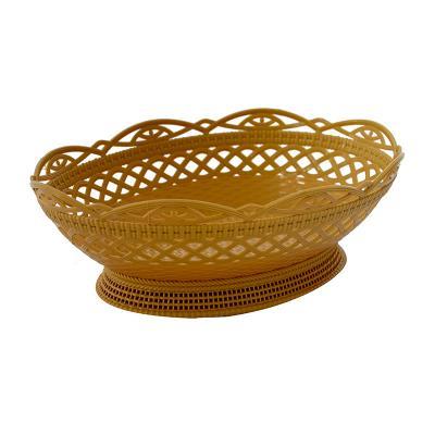 Koszyk plastikowy na pieczywo owalny 30x22 cm