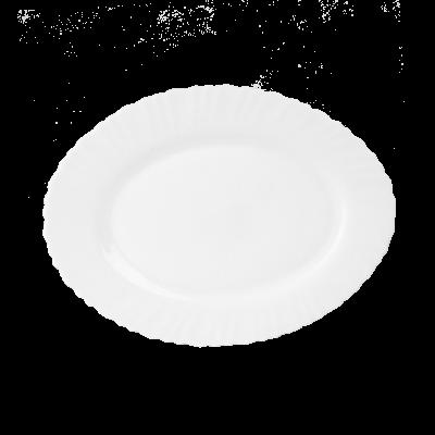 Półmisek Carbo biały 25 cm