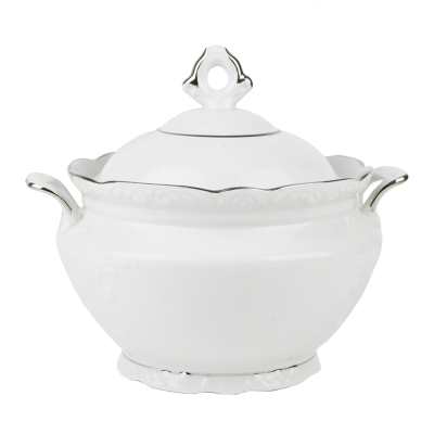 Waza do zupy IRENA platynowy pasek 3l
