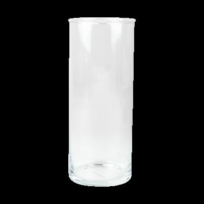 Wazon szklany cylinder 10x25cm