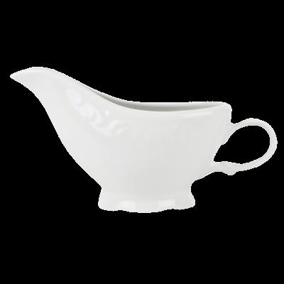 Sosjerka porcelanowa IRENA biała 200 ml