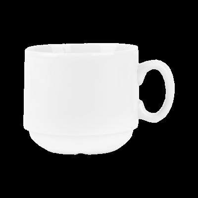 Filiżanka do espresso Horeca biała gładka 100 ml
