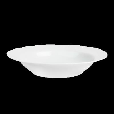 Talerz głęboki IRENA biała 22 cm
