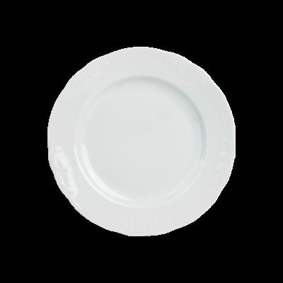 Talerz deserowy IRENA biała 20 cm