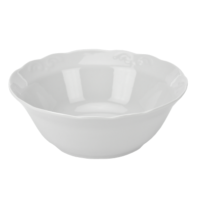 Salaterka porcelanowa IRENA biała 20 cm