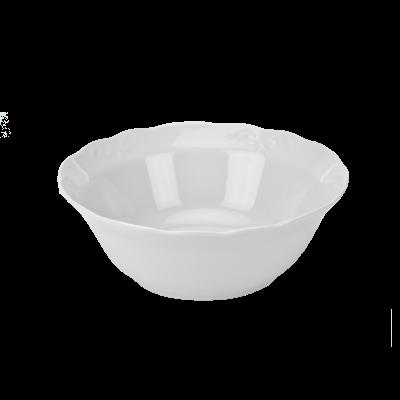 Salaterka porcelanowa IRENA biała 14 cm