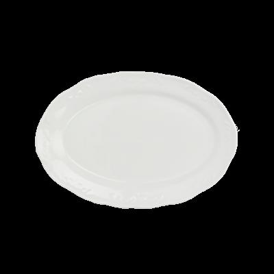 Półmisek porcelanowy IRENA biała 27 cm