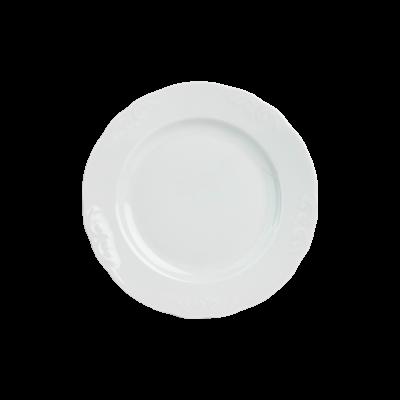 Talerz deserowy IRENA biała 18 cm