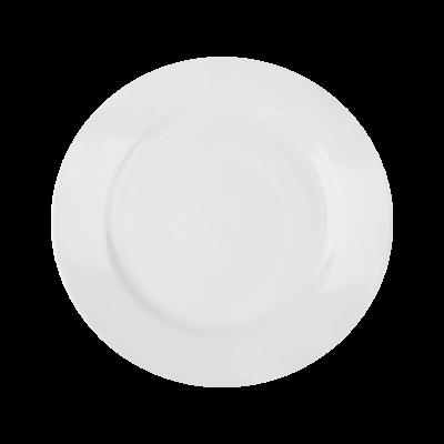 Talerz deserowy Horeca biały gładki 19 cm