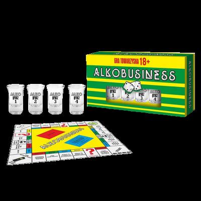 """Planszowa gra 18+ """"Alkobusiness"""""""