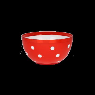 Salaterka plastikowa Marusya czerwona 1,4l