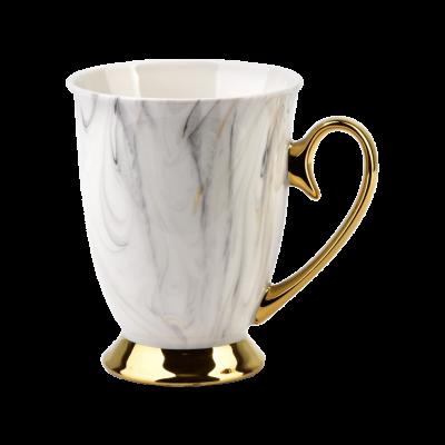Kubek porcelanowy na stopce Georgia Gold 330 ml