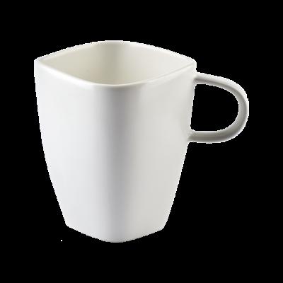 Kubek porcelanowy Happy biały 350 ml