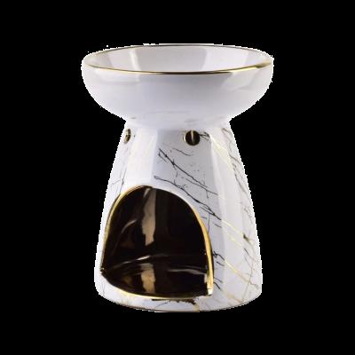 Kominek na olejek zapachowy biały 9x11,5 cm