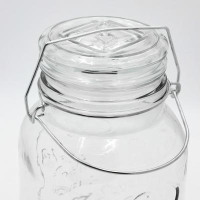 Szklany słój z kranikiem 3,6l