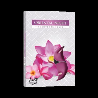 """Komplet podgrzewaczy zapachowych """"Orientalna noc"""" 6 szt"""