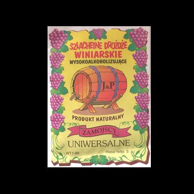 Drożdże winiarskie suszone uniwersalne 5 g
