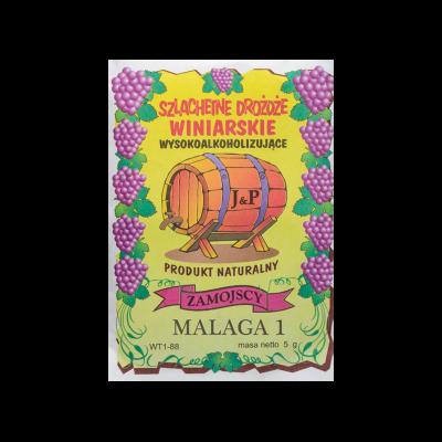 Drożdże winiarskie suszone Malaga 5 g