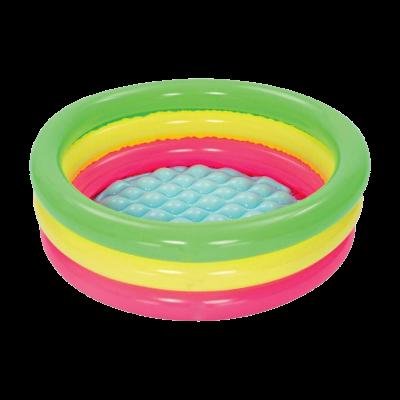 Mini basenik dla dzieci trójkolorowy 70x24 cm