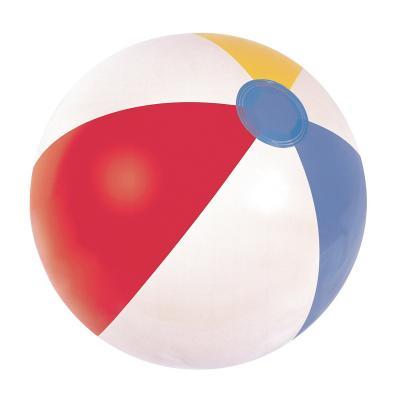 Kolorowa piłka plażowa 61cm
