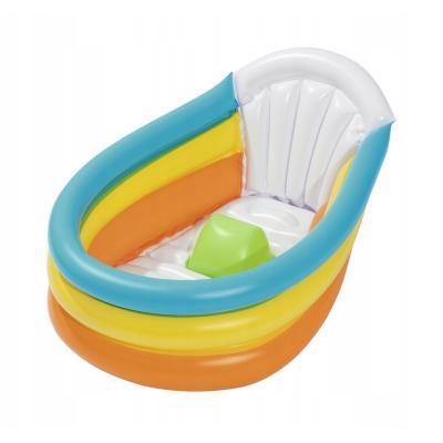 Wanienka nadmuchiwana dla niemowląt z termometrem 76x48x33 cm