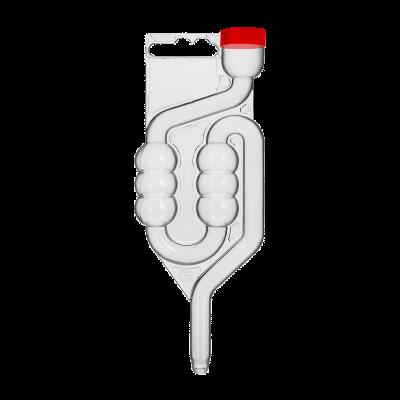 Rurka fermentacyjna z korkiem ochronnym 6-komorowa