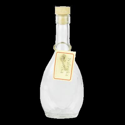 Butelka na nalewkę z korkiem łezka 250 ml