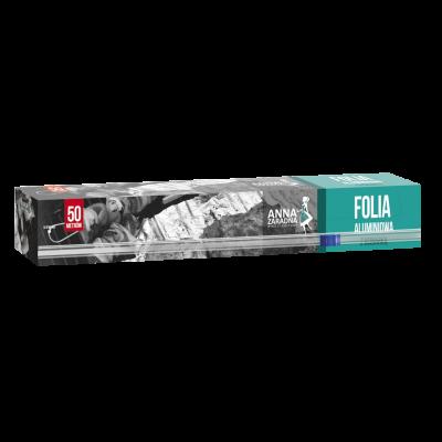 Folia aluminiowa z ucinarką 50m