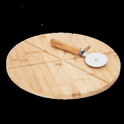 Deska do serwowania pizzy z radełkiem 33 cm