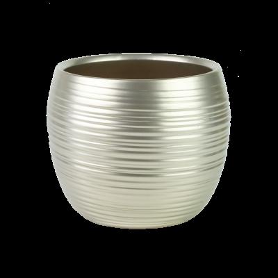 Osłonka ceramiczna baryłka szampańskie złoto 17 cm