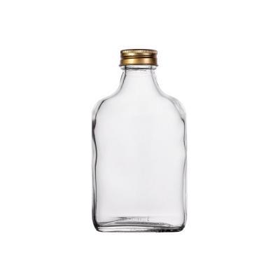 Butelka na nalewkę piersiówka z zakrętką 200 ml