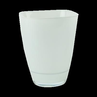 Osłonka szklana do storczyków jasny szary 13x17 cm