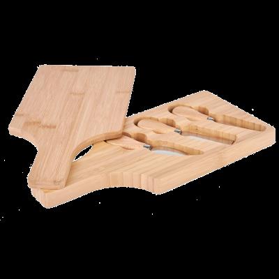 Deska do serwowania serów z narzędziami 30x14x3 cm