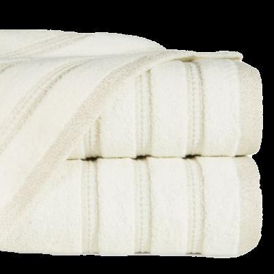 Ręcznik łazienkowy Glory kremowy 50x90 cm