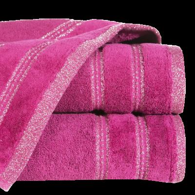 Ręcznik łazienkowy Glory amarantowy 50x90 cm
