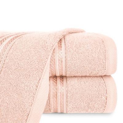 Ręcznik łazienkowy Lori jasny róż 70x140 cm