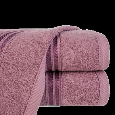 Ręcznik łazienkowy Lori liliowy 50x90 cm