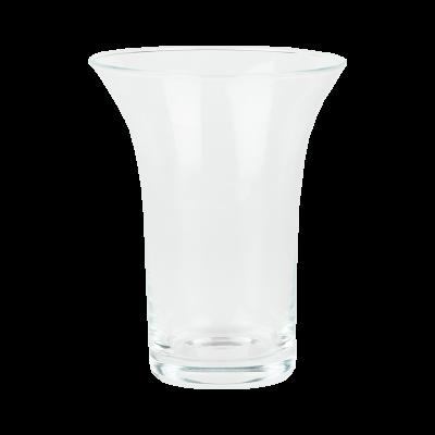 Wazon szklany rozkwitający 14 x 11,5 cm