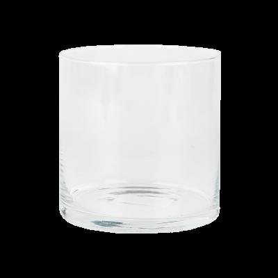 Wazon szklany cylinder niski 13 x 14 cm