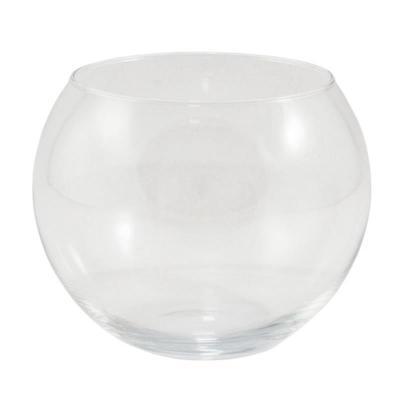 Wazon szklany kula 17 x 20 cm