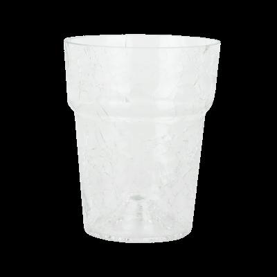 Doniczka szklana przezroczysta na storczyk 16 x 13 cm