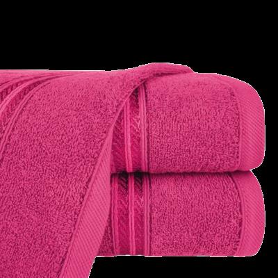 Ręcznik łazienkowy Lori ciemny róż 50x90 cm