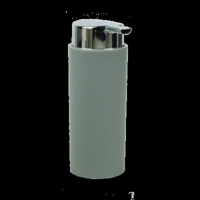 Dozownik do mydła szary 17,5x6,5 cm