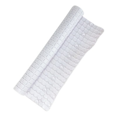 Mata antypoślizgowa pod prysznic biała 52x52 cm